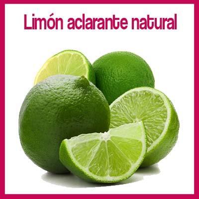 como aclarar el cabello naturalmente con limon