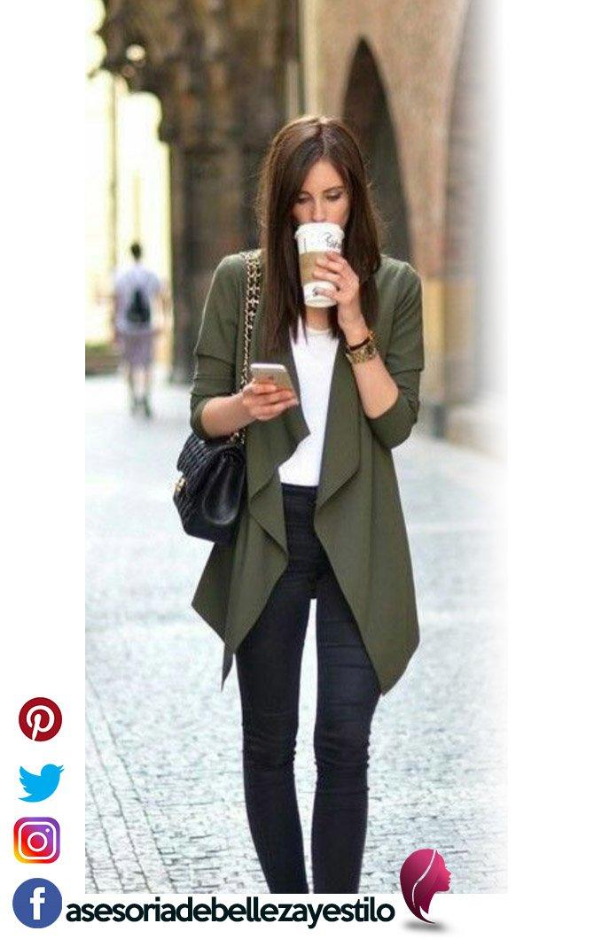 outfit ideal casual pero elegante