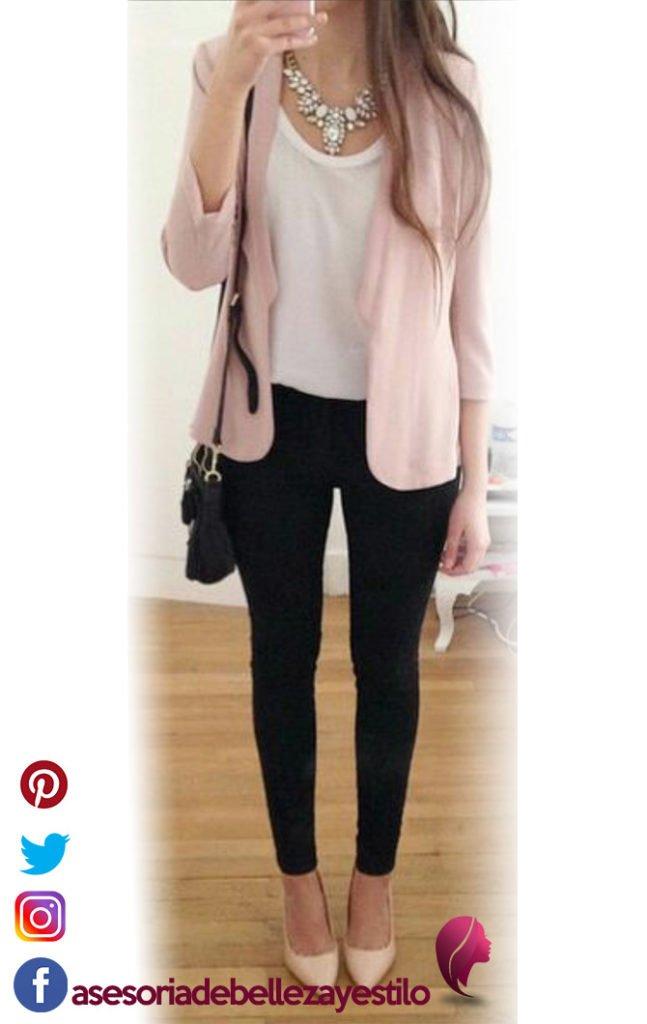 outfit elegante con leggins