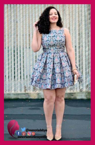 Vestidos Para Gorditas Elegantescasuales Y Tips Para Usarlos - Vestidos-gorditas