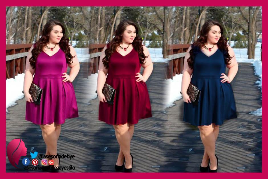 Como hacer un vestido para mujer gorda