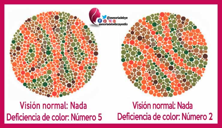 como saber si eres daltonico
