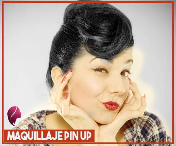peinado al estilo pin up