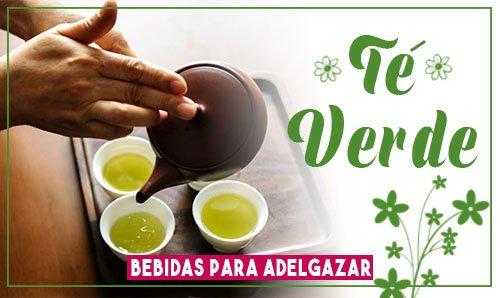 bebidas para bajar de peso en 3 días te verde adelgazar