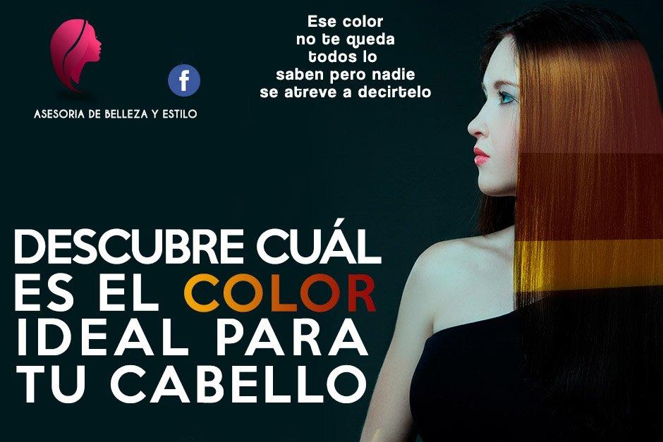 cual es color de cabello ideal segun mi piel