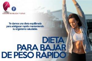 dieta: tips para bajar de peso rapido