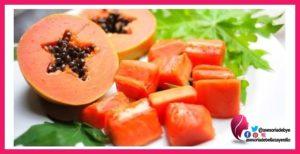 la dieta de la papaya
