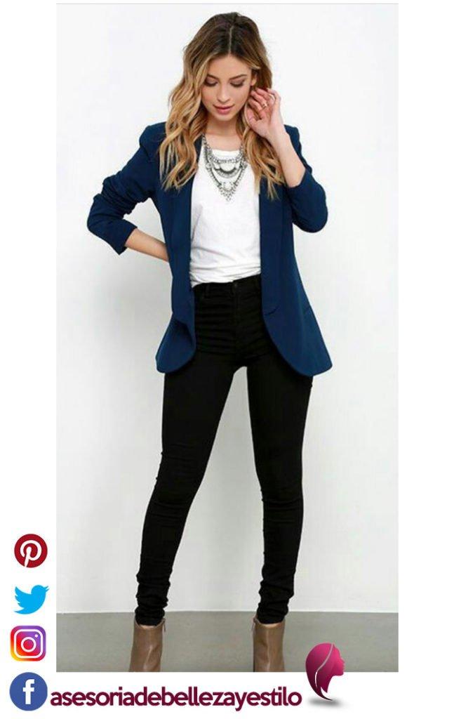 outfit elegante blazer