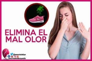 quitar el mal olor de los zapatos