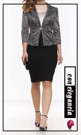como combinar una falda negra elegante y de tubo combine outfit black skirt