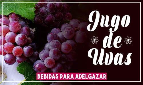 bebidas para bajar de peso rápido jugo de uvas
