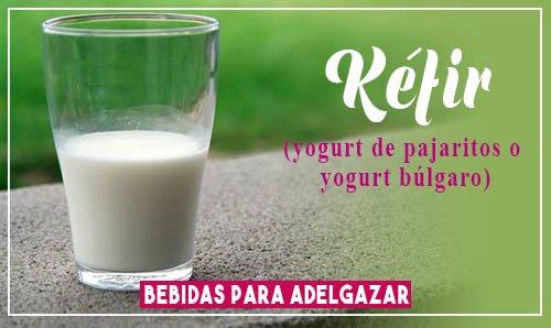 bebidas para bajar de peso rápidamente kefir o yogur búlgaro
