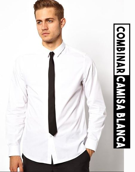 cómo combinar una camisa blanca clasica