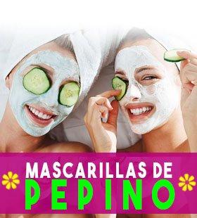 mascarillas de pepino para piel seca