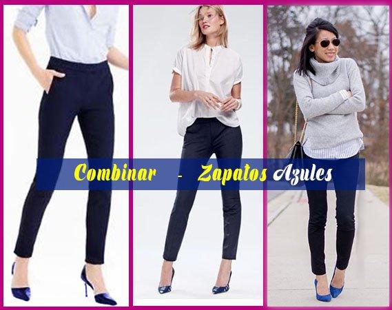 como combinar zapatos azules oscuros de mujer con blanco y negro asesoria de belleza y estilo