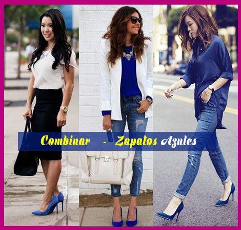 como combinar zapatos azules y ropa casual asesoria de belleza y estilo