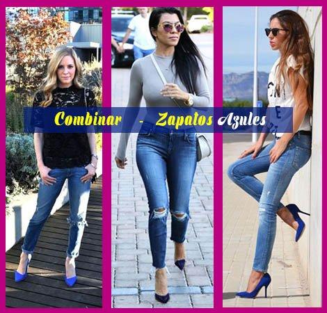 como combinar zapatos azules oscuros con jeans asesoria de belleza y estilo