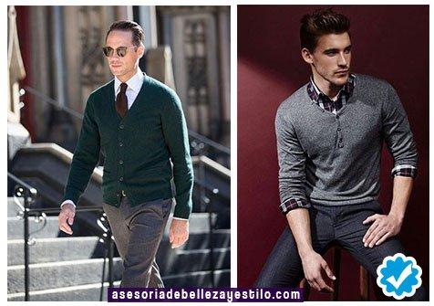 como combinar un pantalón gris de hombre elegante