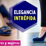 ¿Como combinar zapatos azules de mujer y hombre?