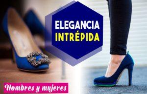 ¿como combinar zapatos azules de mujer y hombre? asesoría de belleza y estilo