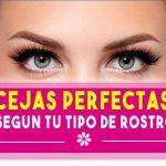 Tipos de cejas según tipo de rostro 【Cejas perfectas】