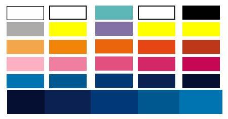 Con que colores se puede combinar un pantalón azul