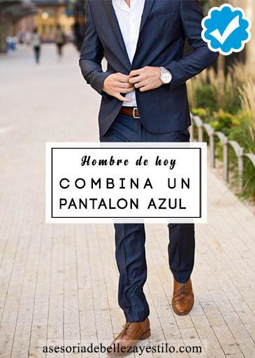 Cómo Combinar Un Pantalón De Vestir Azul Br2ad98cd