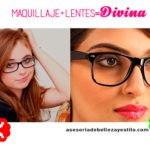 Maquillaje para chicas que usan lentes