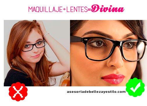 maquillaje para chicas con lentes trucos de maquillaje y maquillaje natural